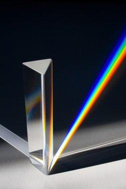 Sunlight Passing Through Prism - Light Spectrum