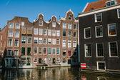 Tradiční domy v Amsterdamu