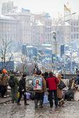 protesty euromaidan v Kyjevě, prosinec 2013