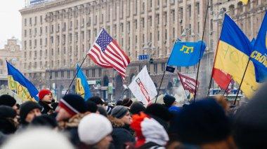 Protests of Euromaidan in Kiev, December 2013