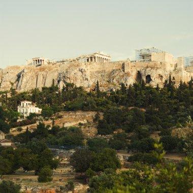 Citadel under renovation, Acropolis
