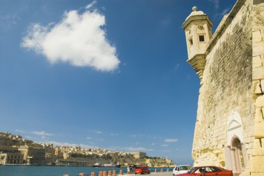 The vedette at Senglea overlooking the harbor