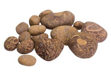 Close-up of decorative stones