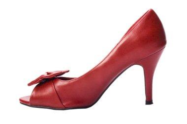 Close-up of a high heel shoe
