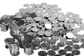 Fotografie hromada mincí