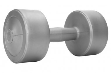 Close-up of a dumbbell