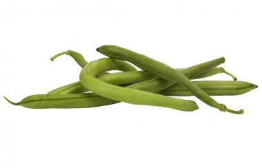 Close-up of green beans stock vector
