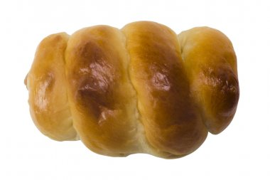 Close-up of a stuffed bread