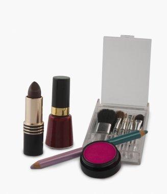 Close-up of fashion cosmetics