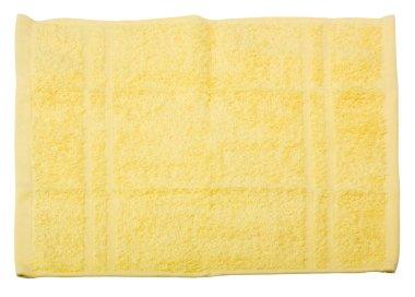 Yellow towel