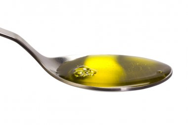 Spoonful of cooking oil