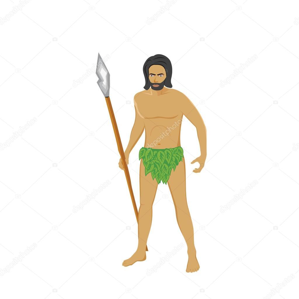 жизни картинка древние люди в одежде из листьев поздравления для нового