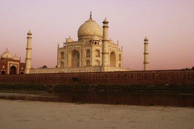 Yamuna River, Taj Mahal