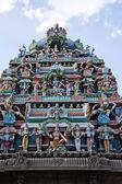 architektonický detail kapaleeshwarar chrámu