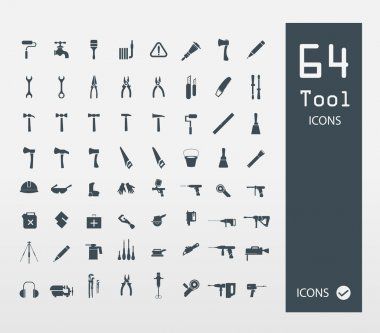 Tool icon set