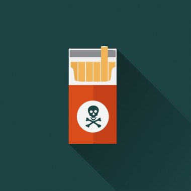Cigarette box icon