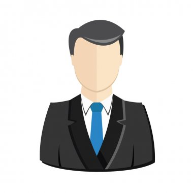 Vector User Profile Avatar Man Icon