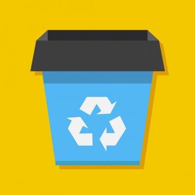 Vector Recycle Bin Icon