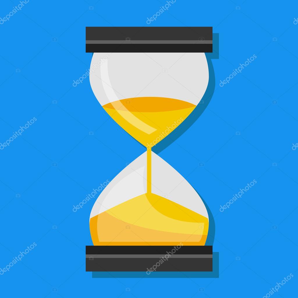 Vector Hourglass Icon