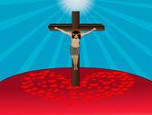 Fotografia Crocifissione di Gesù