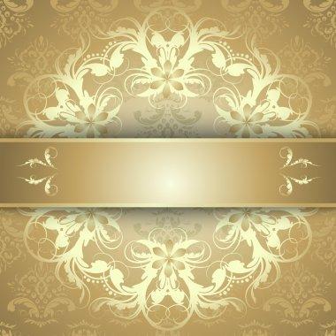 beautiful gold pattern