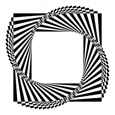 geometric black and white background
