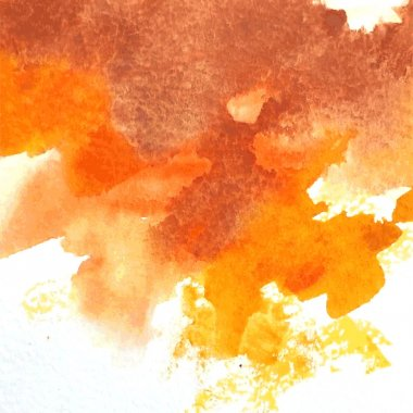 Abstract hand painted watercolor background. clip art vector