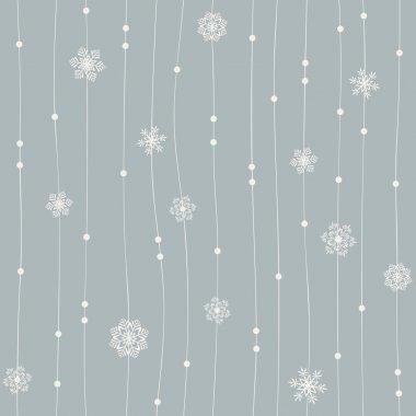 Seamless winter pattern