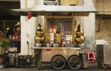 Chinese Tea Stall, George Town, Penang