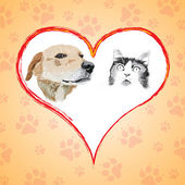 Vektorova Grafika Kreslena Kocka A Pes Spici 229630692 Fotobanka