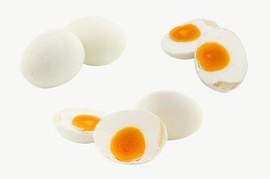 Set of salted duck egg (Thai food)