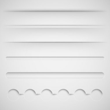 Dividers for web design