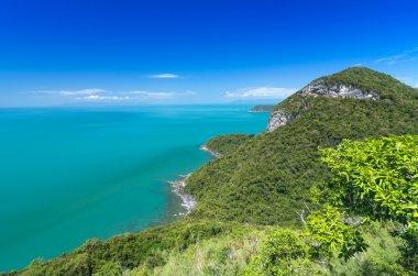 Beautiful Top view of Ang Thong National Marine Park, Thailand