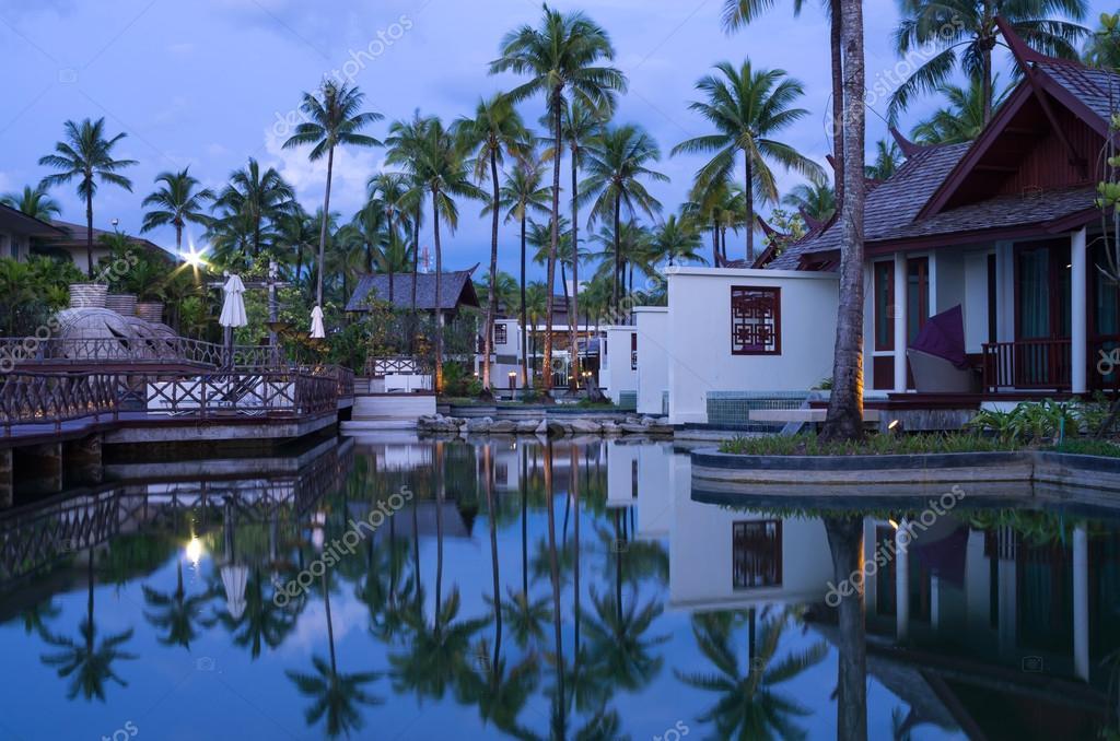 KHAOLAK, THAILAND - NOV 2 : Architecture exterior of the SENTIDO