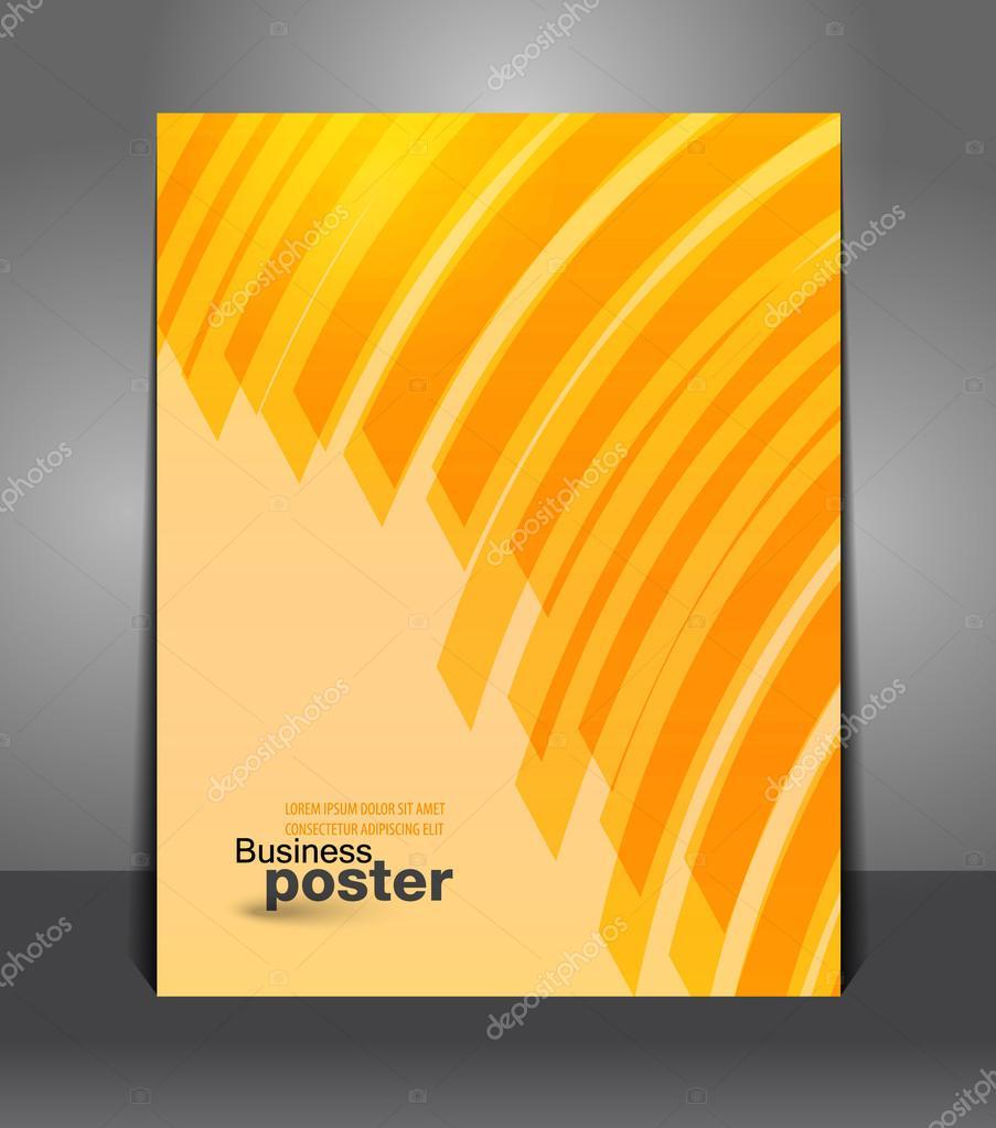 Afiş Grafik Tasarım Arka Plan Stok Vektör Bkamasova 38333429