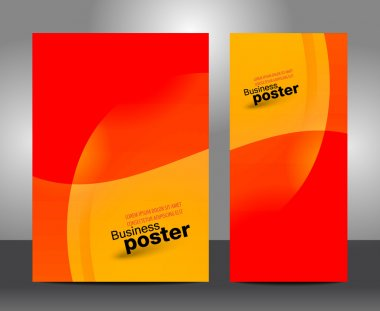 Brochure business design template or banner