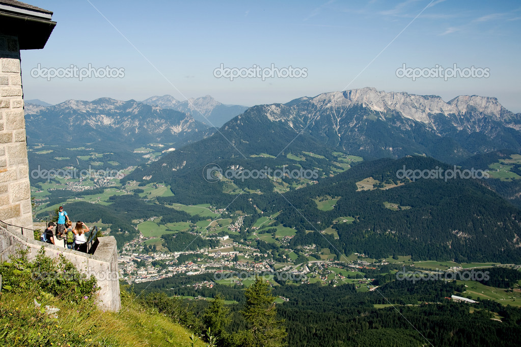 View From Hitler S Eagle S Nest In The Valley Stock Photo 169 Miropink 34727969