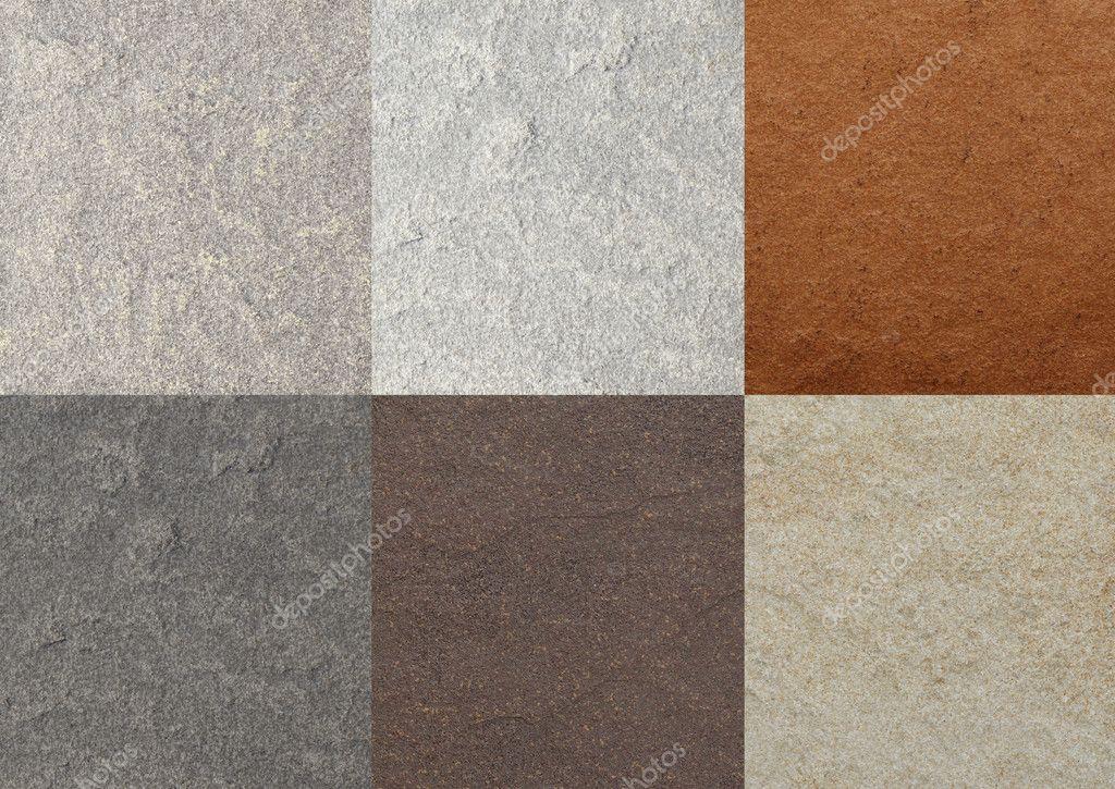 Marmo texture di colore collage di piastrelle u2014 foto stock