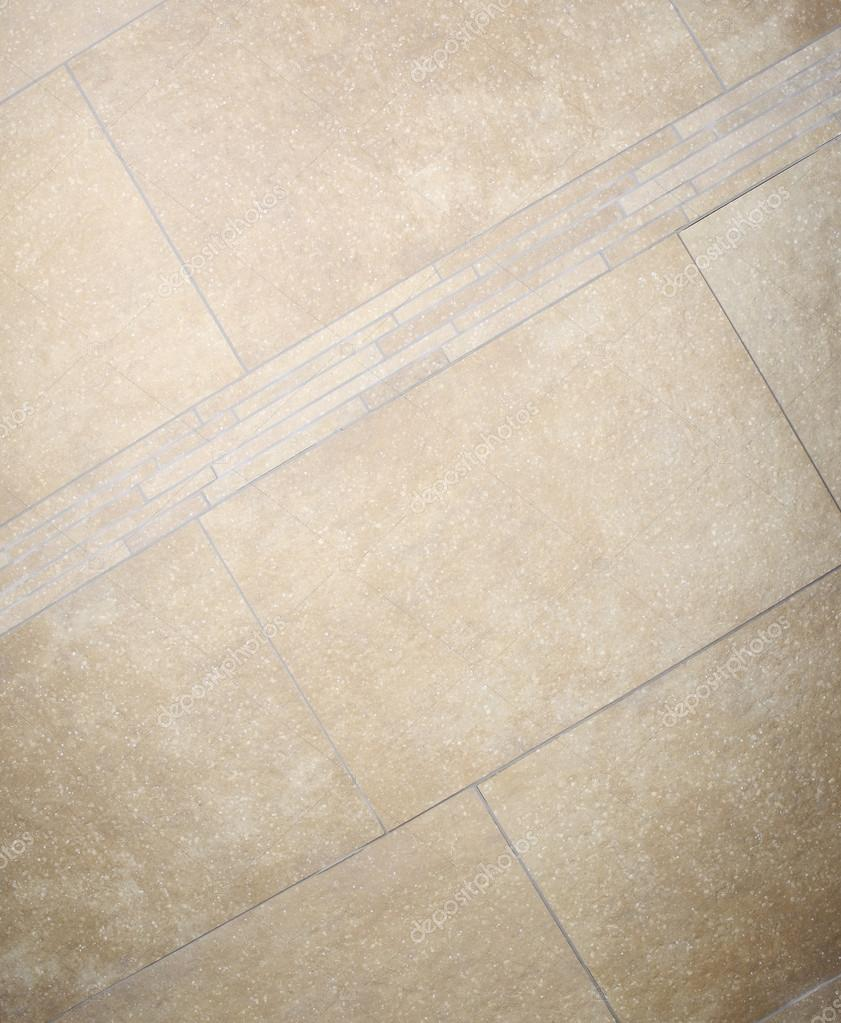 Braun Marmor Hintergrund Bodenfliesen Mosaik Stockfoto