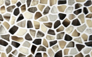 Color marble texture, mosaic tiles collage
