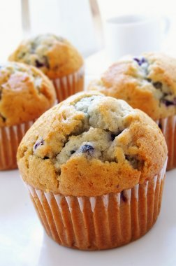 Large Blueberry muffins