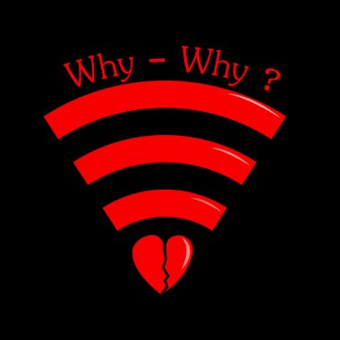 Wi-fi sign with heart