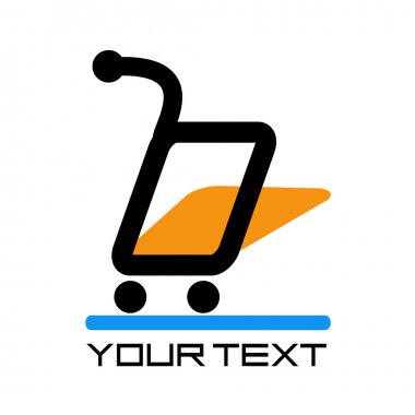 On-line market logo