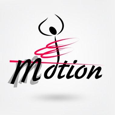 Motion sport vector logo