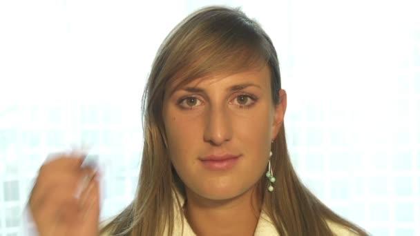 žena make-up