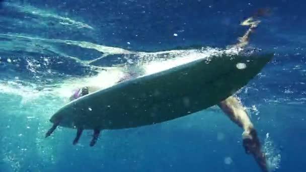 evezés női szörfös