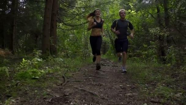 pár běhání v lese