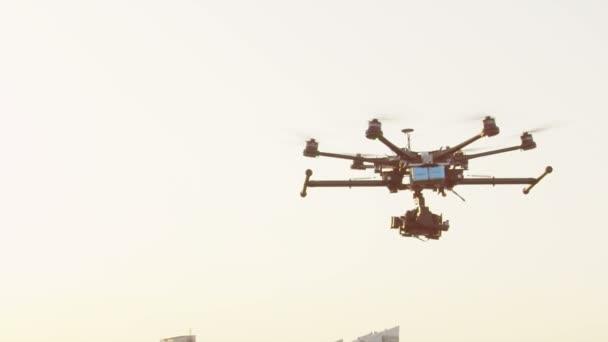 drone přistání