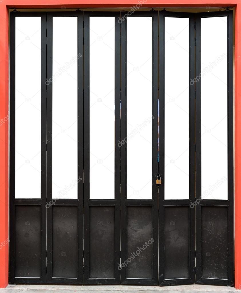 porte a soffietto in legno moderna — Foto Stock © sirastockid08 ...