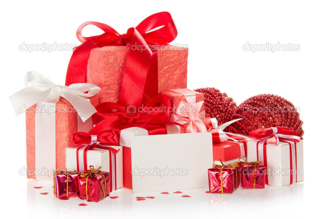 Coffrets Cadeaux Lumineux Du Nouvel An Boules Et Vierge